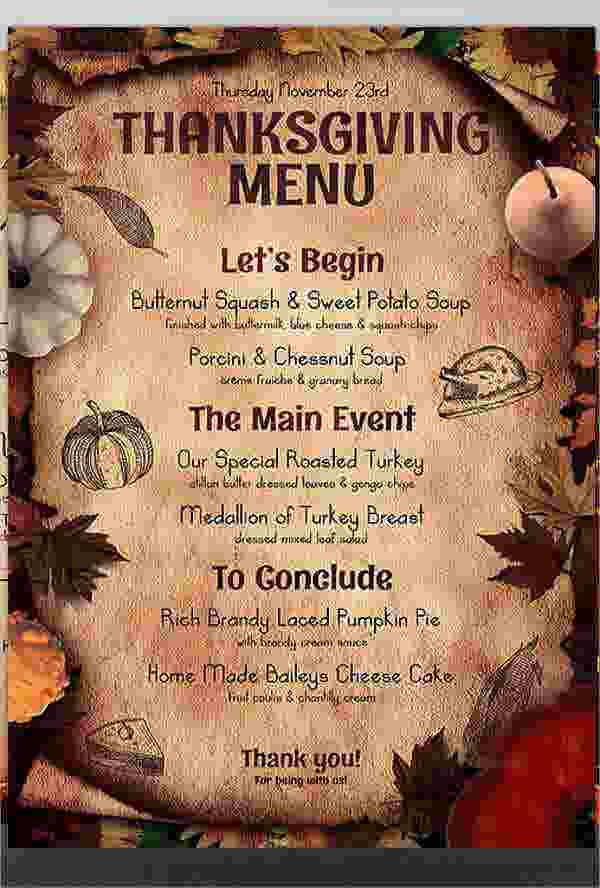8 dinner party menu templates psd ai free premium templates