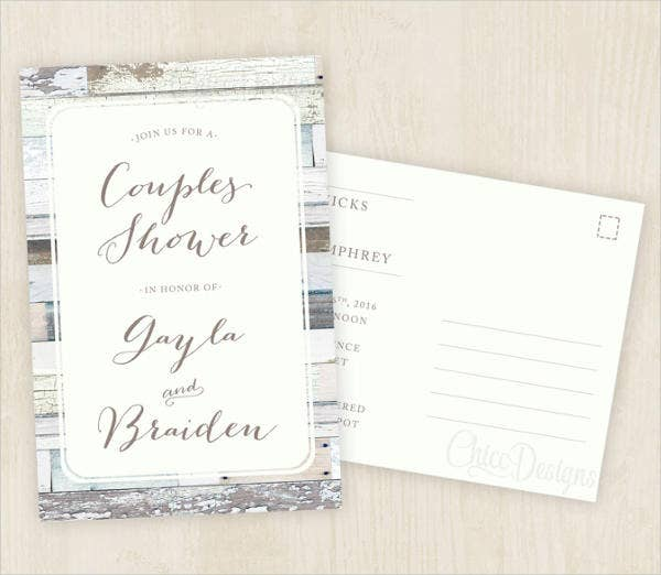 couples-bridal-shower-invitation-postcard