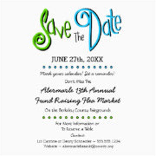 7 save the date event postcards psd ai eps free for Conference save the date template