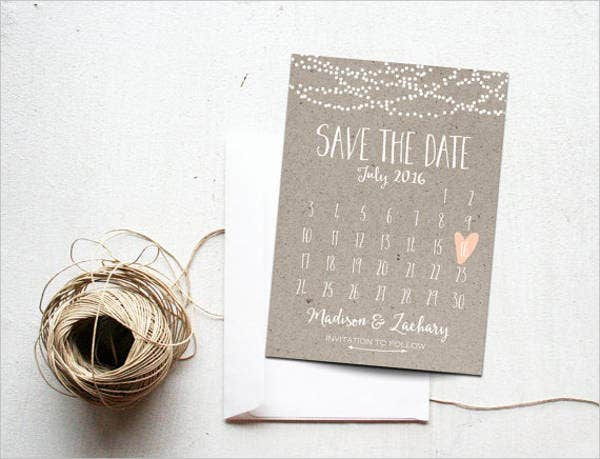 7 save the date event postcards psd ai eps free for Free vintage save the date templates