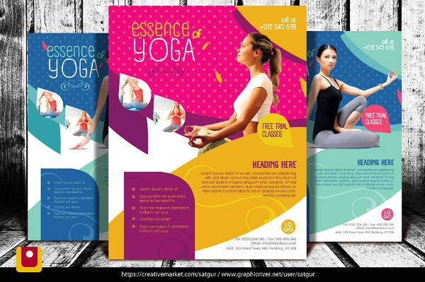 Free Corporate Fitness Brochure
