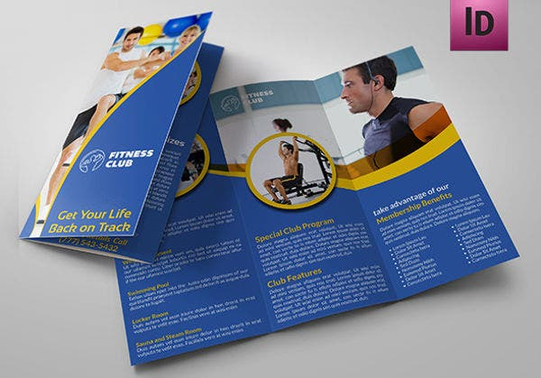 Corporate Physical Fitness Brochure