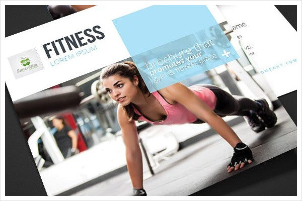 Corporate Fitness Trifold Brochure