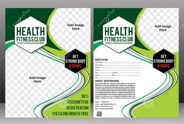 Corporate Fitness Health Brochure