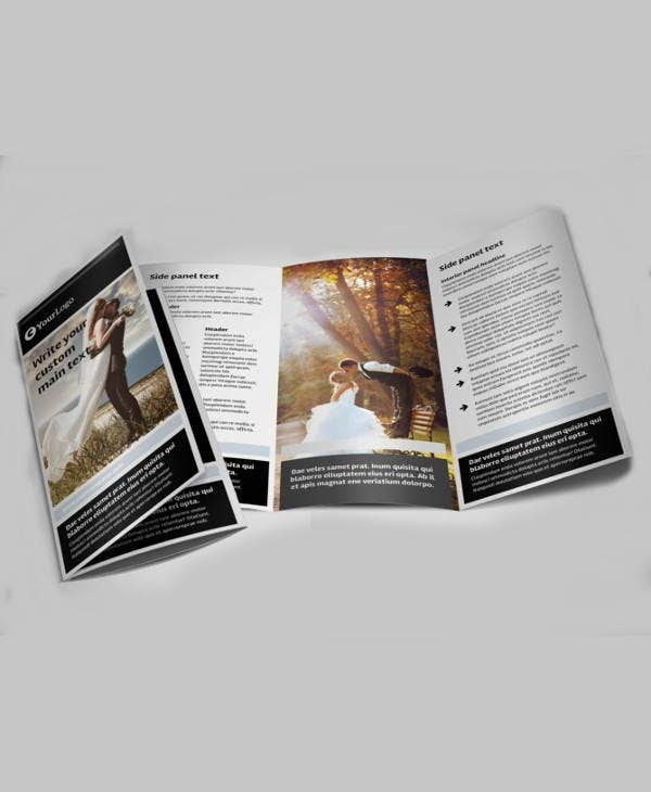 wedding event company brochure1