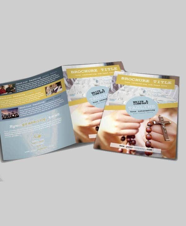 church event company brochure