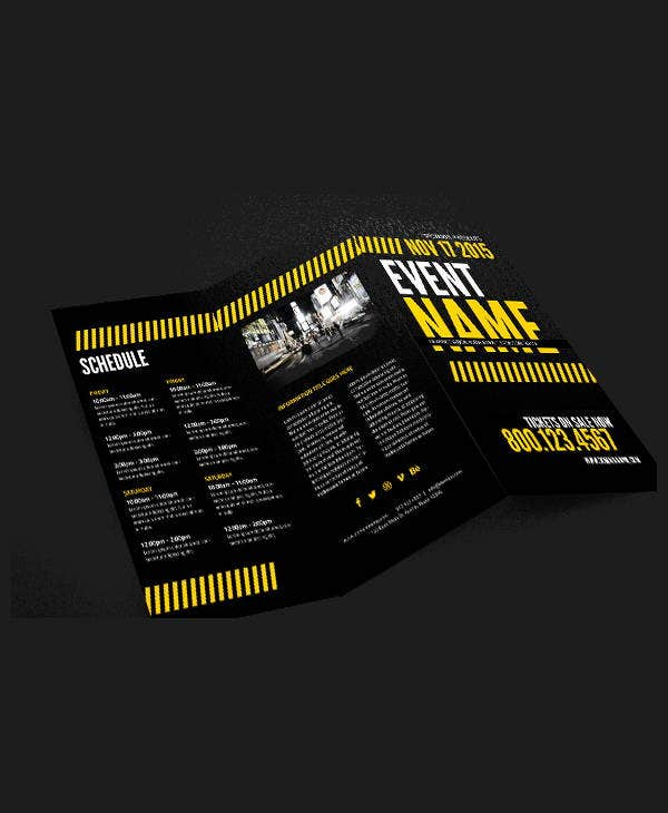 sample event company brochure1