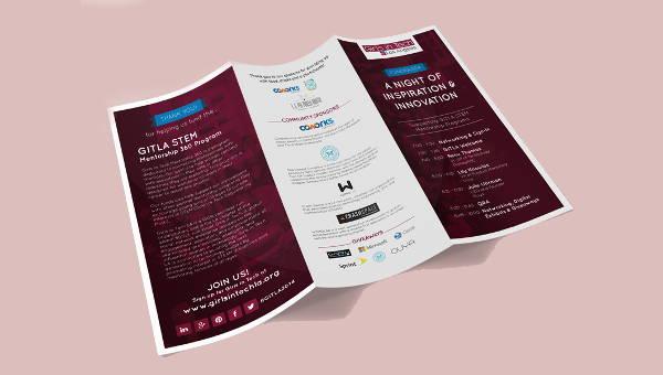 event company brochures