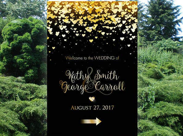golden-wedding-invitation-banner