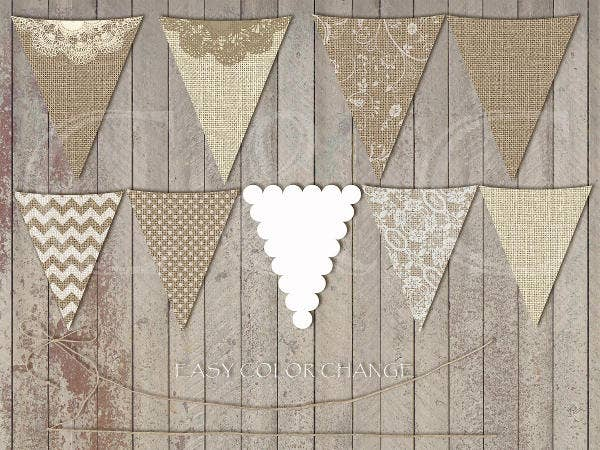 burlap-wedding-invitation-banner