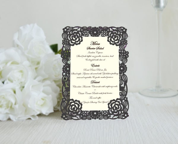 engagement-party-floral-menu-design