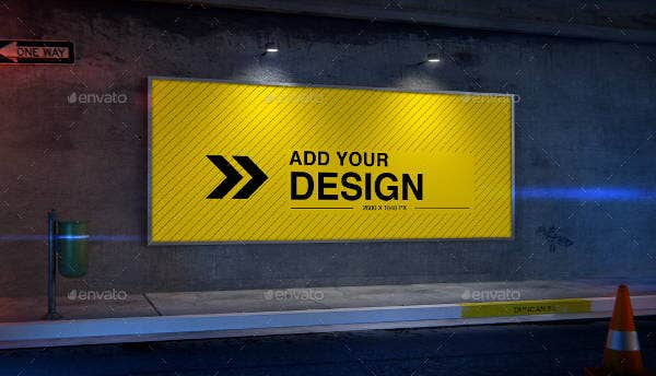 advertising agency billboard mockup