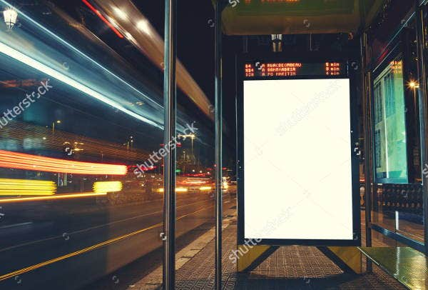 advertising blank billboard mockup