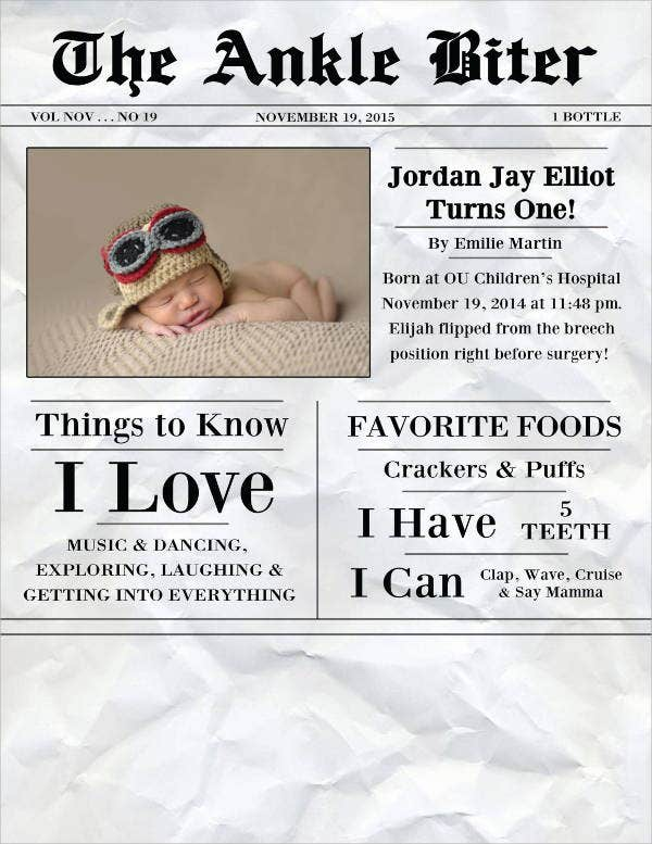 first-birthday-newspaper-template