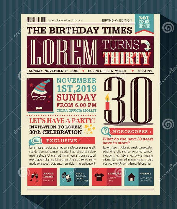 birthday-card-newspaper-template