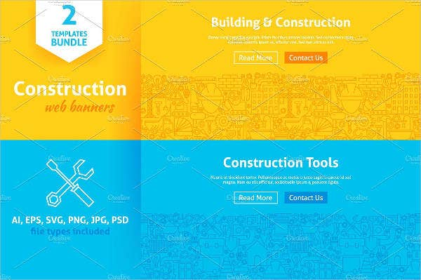 construction web banner