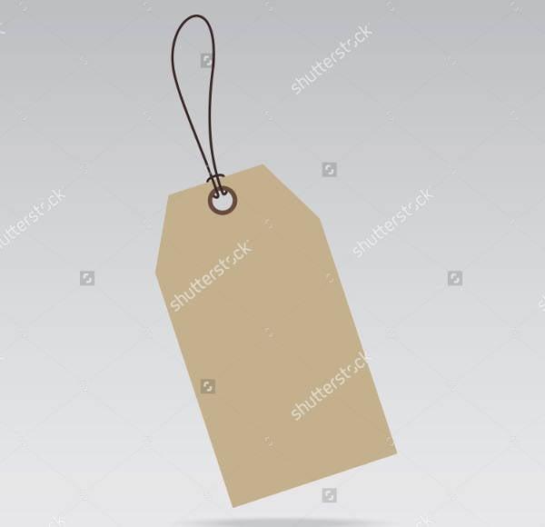blank sale tag design