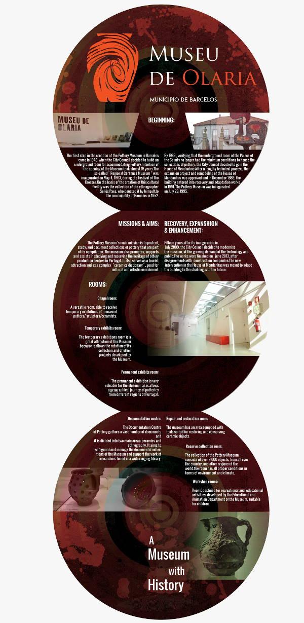 pottery museum brochure