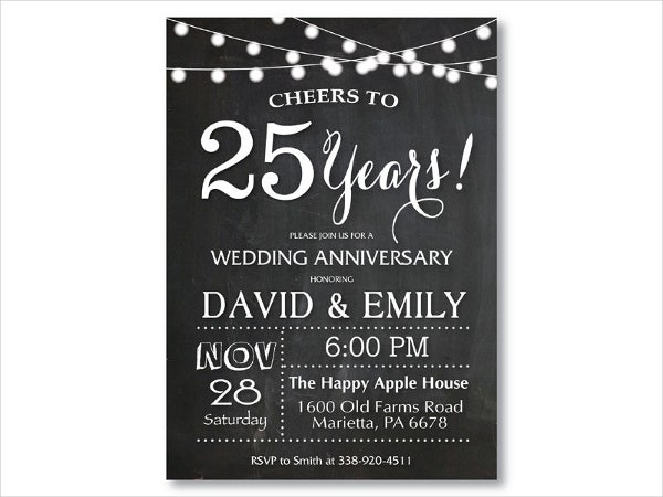 6+ Anniversary Invitation Cards - Editable Psd, Ai, Vector Eps
