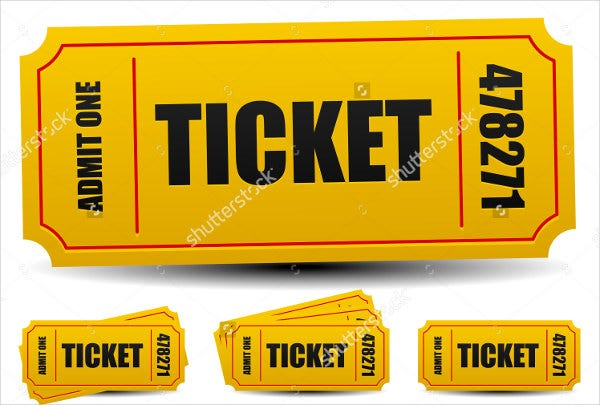 9 Entry Ticket Templates Free PSD AI Vector EPS Download – Ticket Template