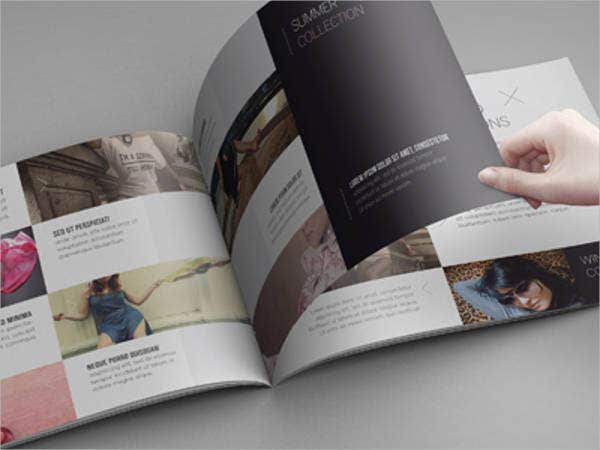 Landscape Brochure MockUps  Printable Psd Ai Indesign