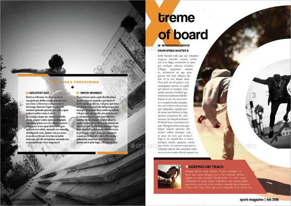 simple sport magazine