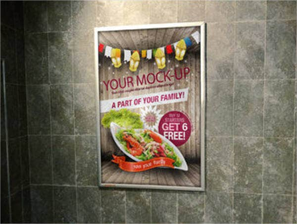 photorealistic outdoor poster mockup1