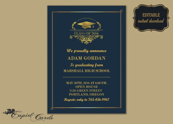 Download Graduation Card U2013 Outside (Diploma Design, U2026