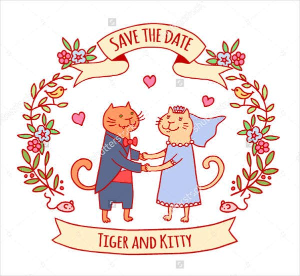 couple kitty party invitation