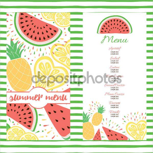 summer-lunch-party-menu-template