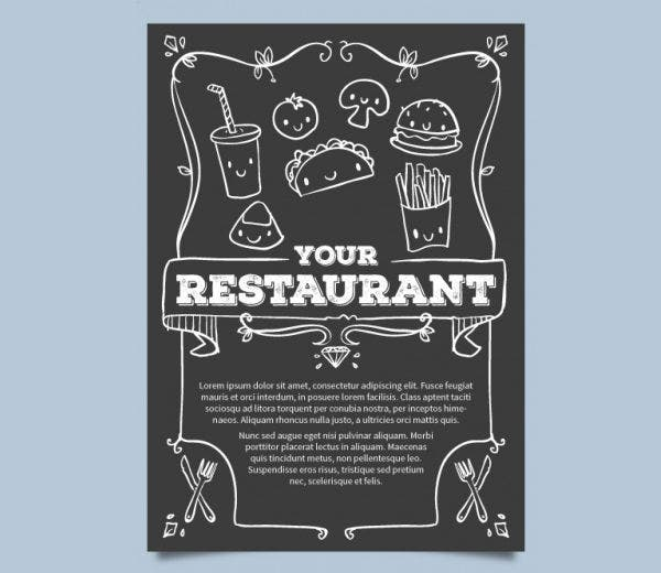 sunday-lunch-party-menu-template