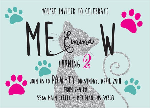 8 kitty party invitation templates designs templates free kitty party invitation wording stopboris Images