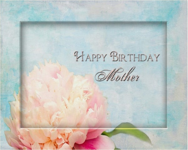 birthday flash card for mother