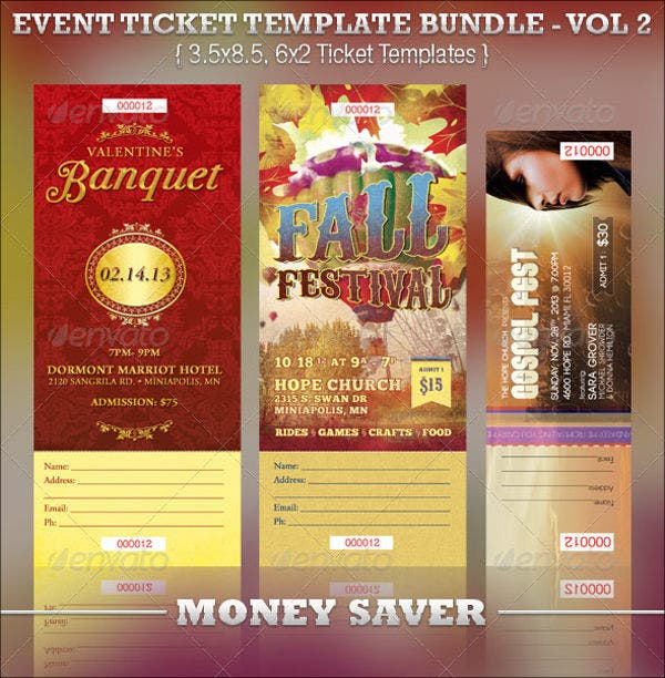 8 banquet ticket templates free psd ai vector eps download free printable banquet ticket template pronofoot35fo Choice Image