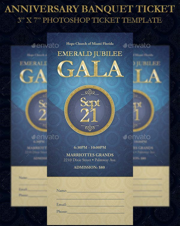 anniversary-banquet-ticket-template