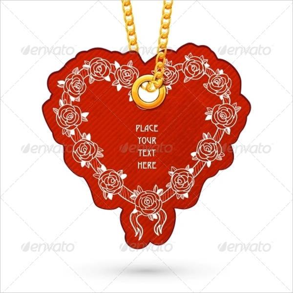 jewelry metal tag design1