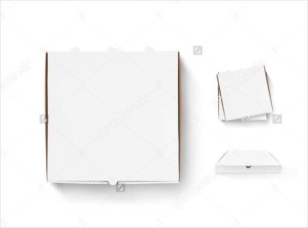 pizza box envelope template