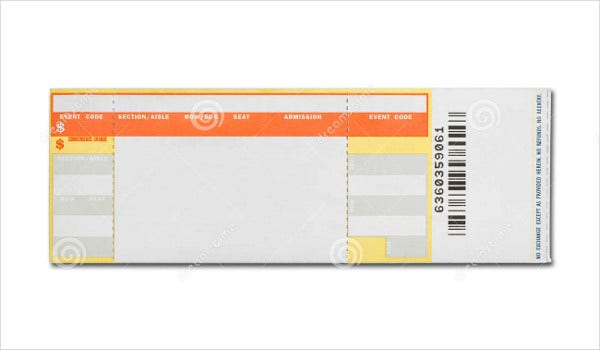 Concert Ticket Templates  Free Psd Ai  Vector Eps Download