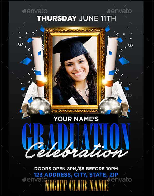 graduation box envelope template