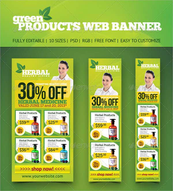 product web banner