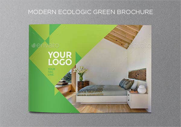 Modern Ecological Green Brochure