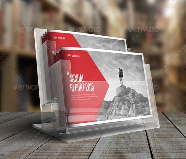 Photorealistic Corporate Brochure Mockup