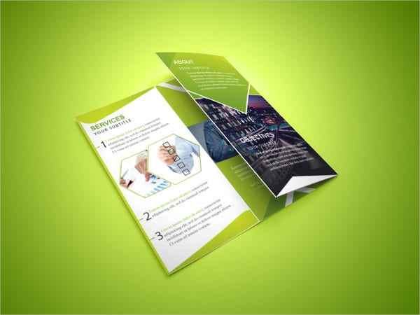 Free PSD Corporate Brochure Mockup