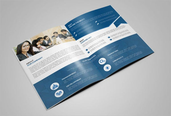 corporate technology brochure