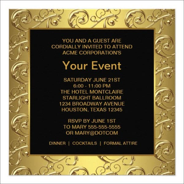 10 corporate invitation cards editable psd ai vector eps corporate event invitation card stopboris