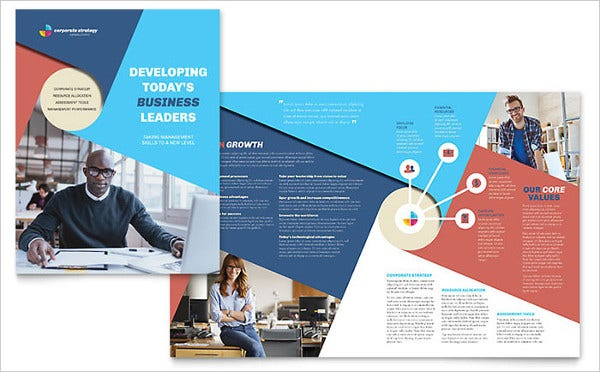 Professional Corporate Brochure Mockup