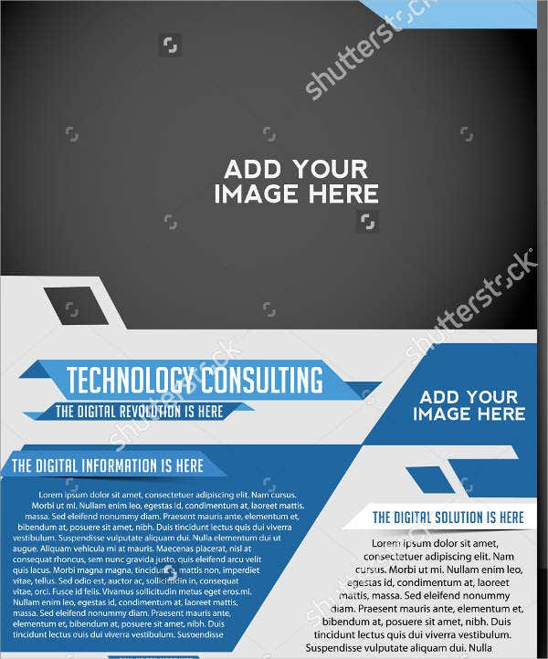 Technology Brochures  Editable Psd Ai Vector Eps Format
