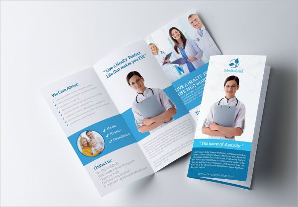 medical technology tri fold brochure
