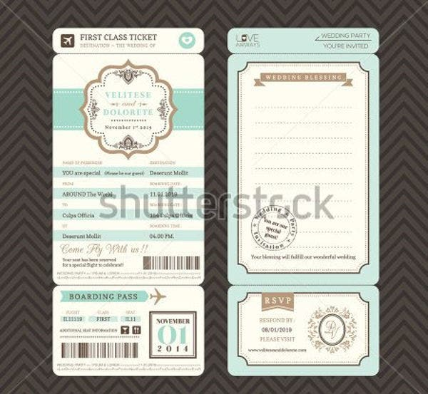 ticket-invitation-envelope-template
