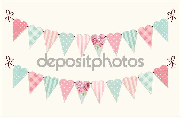 vintage-pennant-invitation-banner